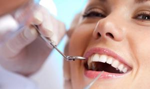 V - Smiling Dental Client