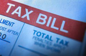 Image - tax bill